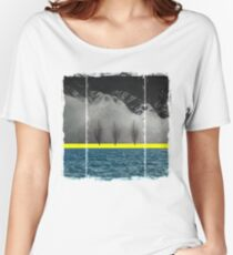 Between Mountains and Sea Women's Relaxed Fit T-Shirt