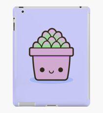 Succulent in cute pot iPad Case/Skin