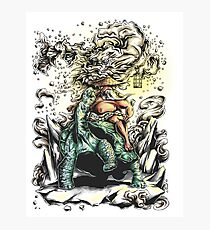 The wise oldman Photographic Print