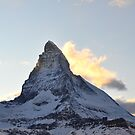 Matterhorn at Sunset 2 by Rosy Kueng Photography