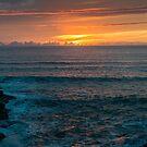 Polzeath sunset - Cornwall by Chris Warham