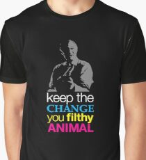 Home Alone - Keep the Change You Filthy Animal Graphic T-Shirt