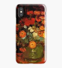 Van Gogh - Bowl of Zinnias iPhone Case/Skin