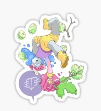 Jelly Grapes Sticker