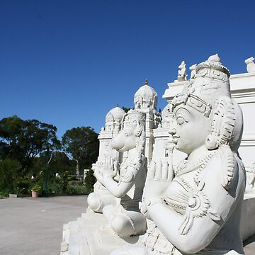Hindu Temple Statues by Danthesnapper