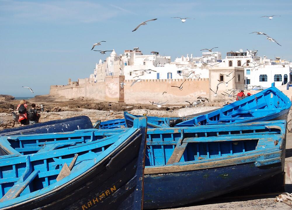 Essaouira, Morroco by Paul Loveday