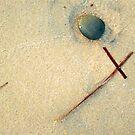 Beachcombing 2 by kimomalley