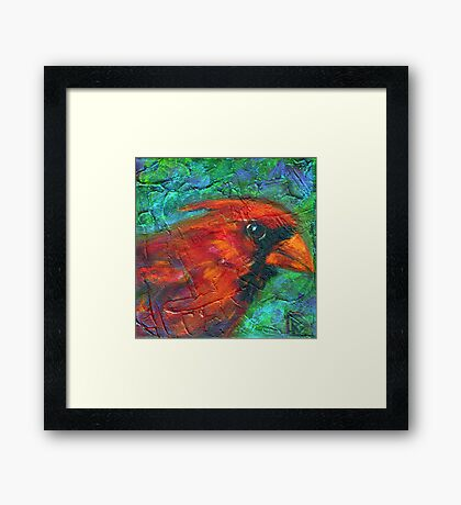 Reasons to Be Cheerful: Cardinals Framed Print