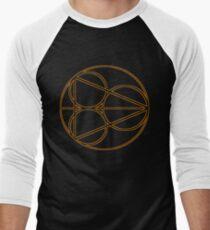 Holistic Detective Agency symbol  Men's Baseball ¾ T-Shirt