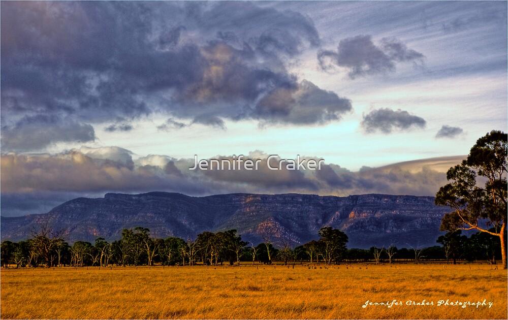 Grampians Views  by Jennifer Craker