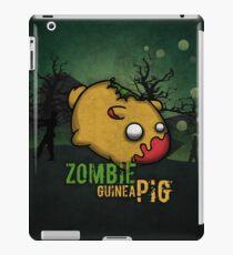 Zombie guinea pig iPad Case/Skin
