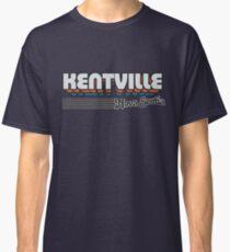 Kentville, Nova Scotia | Retro Stripes Classic T-Shirt