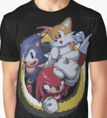 Sonic, Tails and Knuckles Graphic T-Shirt