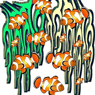Clownfish2 by Miraart
