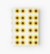 Six Sunflowers Hardcover Journal
