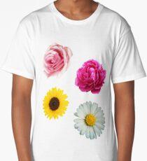 Flowers Set Long T-Shirt