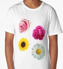 Flowers Set Long T-Shirt