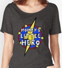 Mommy's Cute Little SuperHero Geek Women's Relaxed Fit T-Shirt