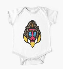 Mandrill Monkey One Piece - Short Sleeve