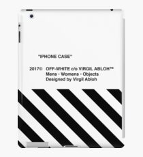 iphone white iPad Case/Skin