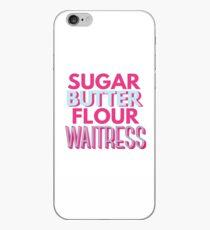 WARTE DAS MUSIKALISCHE Zucker, Butter, Mehl iPhone-Hülle & Cover