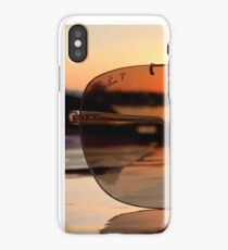 Ray ban sunset  iPhone Case/Skin