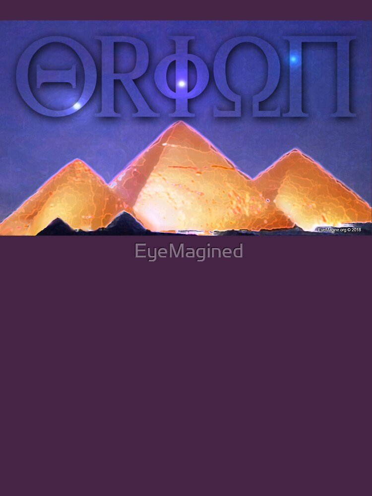 Orion's Belt and the Pyramids by EyeMagined