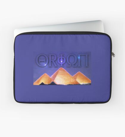 Orion's Belt and the Pyramids Laptop Sleeve