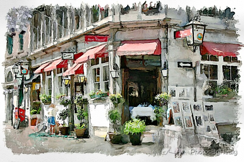La Sauvagine watercolour by Photos by Healy
