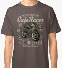 Cafe Racer Motorcycle Custom Vintage Design Classic T-Shirt