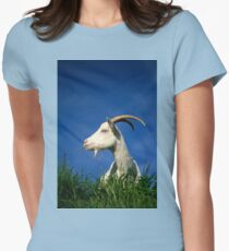 Goat Women's Fitted T-Shirt