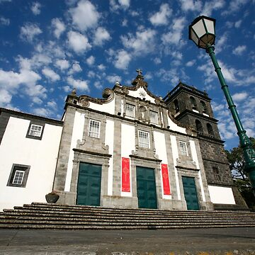 Church in Ribeira Grande by gavila