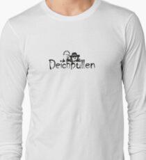 Deichbullen Logo Köpfe Long Sleeve T-Shirt