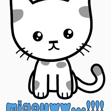cute cat by myshop