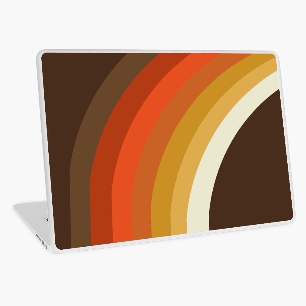 Tubular - abstract retro 70s style throwback 1970's minimalist decor rainbows iphone 11 case