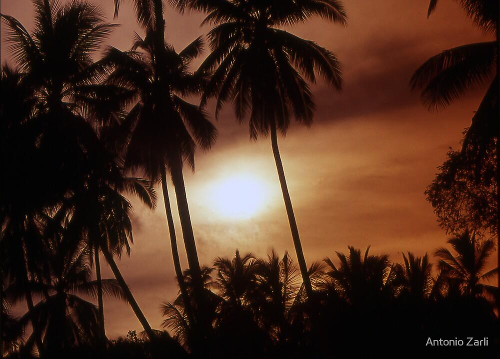 Sunset in Ko Samui by Antonio Zarli
