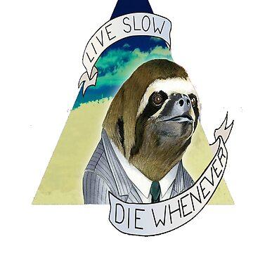 Sloth T-Shirt by MasterCasual