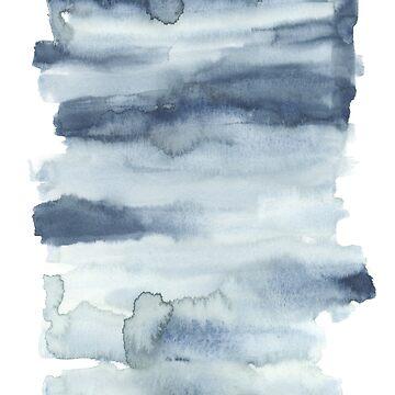 Watercolour T Shirt by Fangpunk