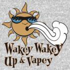 Ω VAPE Shirt   Wake and Vape by IconicTee
