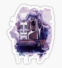 Sportcar Sticker