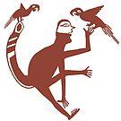 Meso-American Macaws by Ken Gilliland