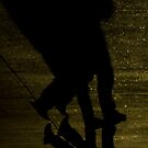 Shadow Walker by Kent  Palmer
