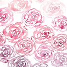 Ombré Faded Roses Phone Case by AnnasEyeforArt