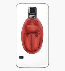 Herz-Skarabäus-Amulett Hülle & Klebefolie für Samsung Galaxy