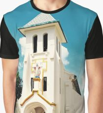 Sacred Heart Cathedral - Vientiane, Laos. Graphic T-Shirt