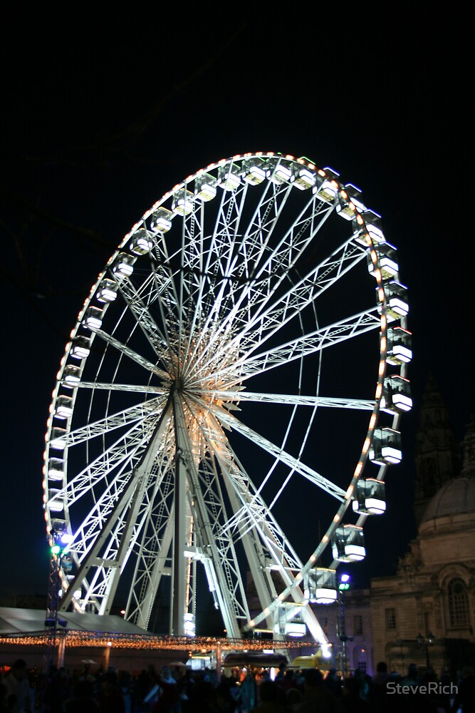 The Big Wheel at night by SteveRich