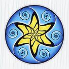 Mandala Spiral Star by divotomezove