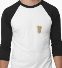 Iced Tea Freak Men's Baseball ¾ T-Shirt