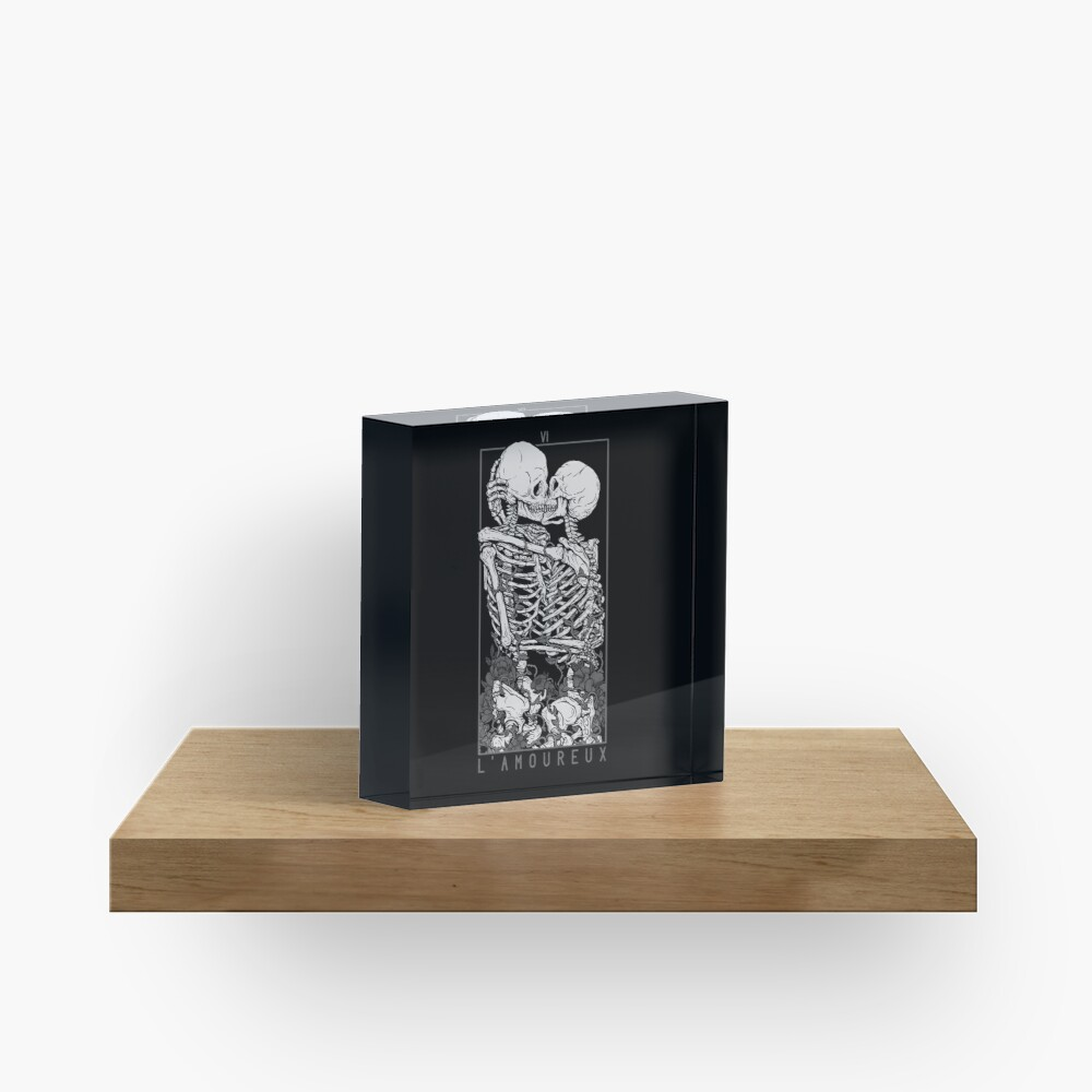 The Lovers Acrylic Block