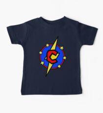 My Cute Little SuperHero Geek - Super Letter C Baby Tee